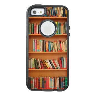 Bücherregal bucht Bibliotheks-Bücherwurm-Lesung OtterBox iPhone 5/5s/SE Hülle