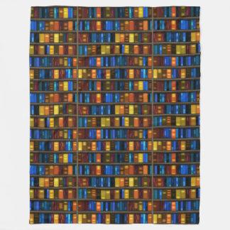 Bücherregal-Fleece-Decke Fleecedecke