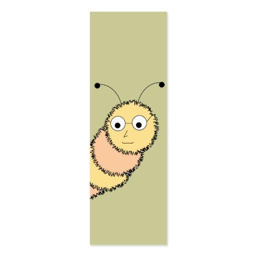 B cherwurm lesezeichen gesch fts karte visitenkarten for Visitenkarten gratis vorlagen