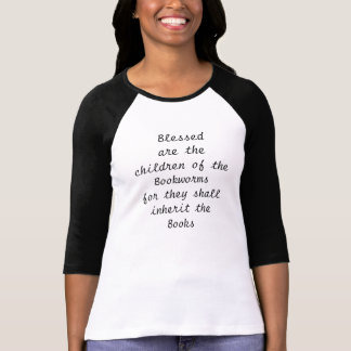 Bücherwurm-Liebe T-Shirt