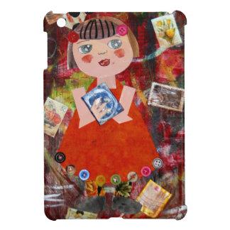 Bücherwurm-Medien-Kunst iPad Mini Hülle