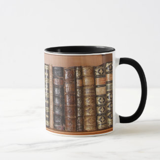 Bücherwurm-Tasse Tasse