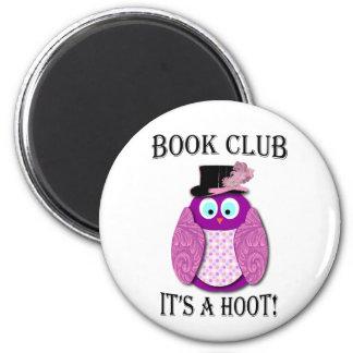 Buchgemeinschaft - es ist ein Schrei - rosa Entwur Kühlschrankmagnete