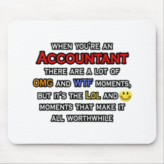 Buchhalter… OMG WTF LOL Mousepad