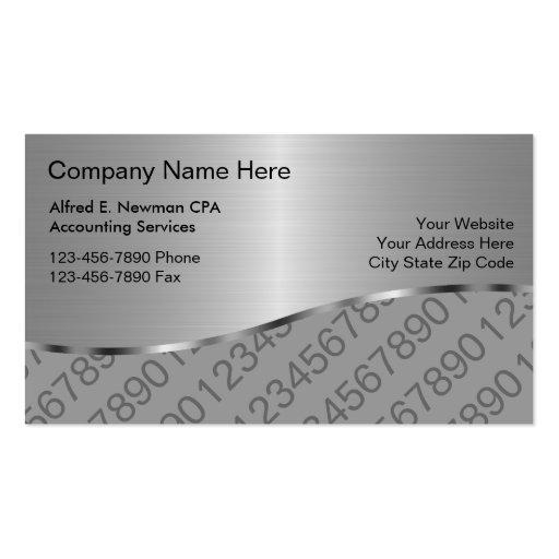 Buchhalter-Visitenkarten