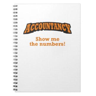 Buchhaltung - zeigen Sie mir die Zahlen! Notizblock
