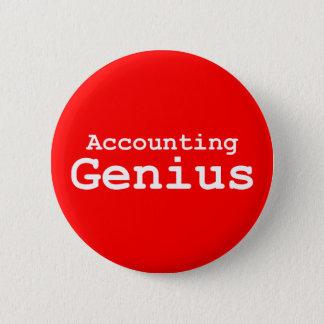 Buchhaltungs-Genie-Geschenke Runder Button 5,1 Cm