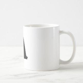 Buchstabe A_large Kaffeetasse