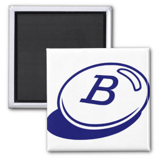 Buchstabe B Quadratischer Magnet