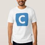 Buchstabe C emoji Twitter T-Shirts