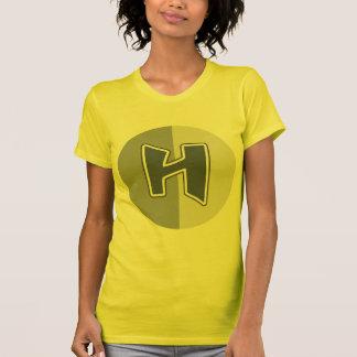 Buchstabe H T-Shirt