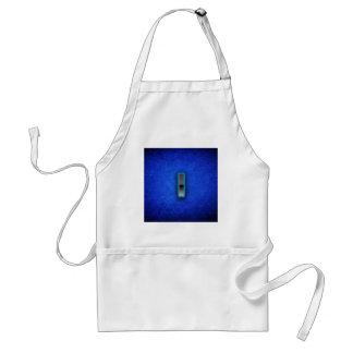 Buchstabe I - blaue Neonausgabe Schürze
