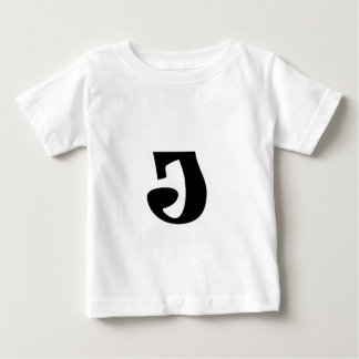 Buchstabe J_large Baby T-shirt