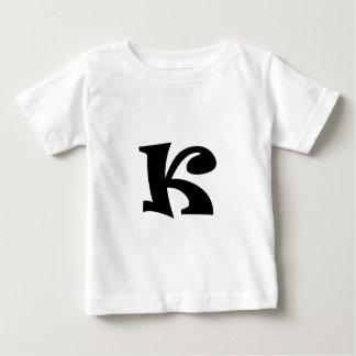 Buchstabe K_large Baby T-shirt