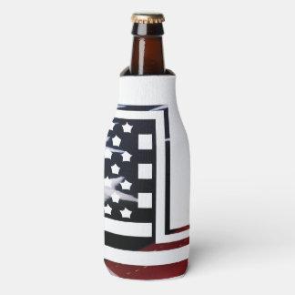 Buchstabe L Monogramm-Initiale patriotische Flaschenkühler