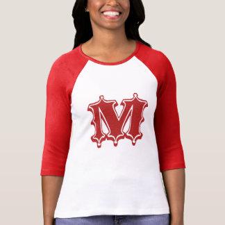 Buchstabe M T-Shirt