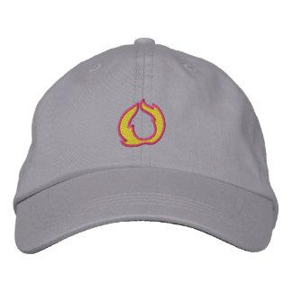 Buchstabe O des Feuer- 1 Bestickte Baseballcaps