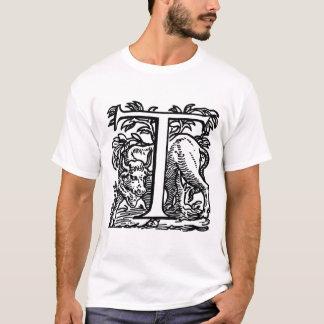 Buchstabe T NEU T-Shirt