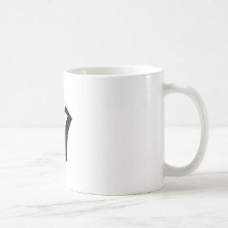 Buchstabe V_large Kaffeetasse