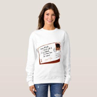 Buchstabe vom Afro Sweatshirt