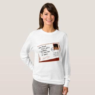 Buchstabe vom Afro T-Shirt