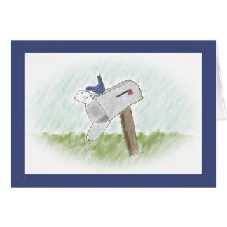 Buchstabe von einer Drossel-kundengerechten Karte