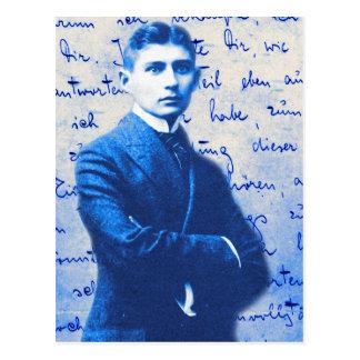 Buchstabe von Kafka Postkarte