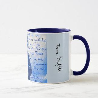 Buchstabe von Kafka Tasse