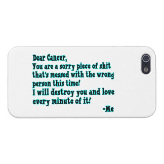 Buchstabe zum Krebs iPhone 5 Schutzhüllen