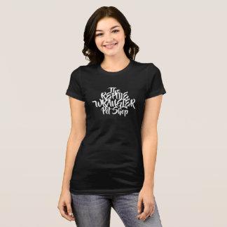Buchstabekopf der Frauen T-Shirt