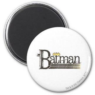 Buchstaben Batmans Showtime Runder Magnet 5,1 Cm