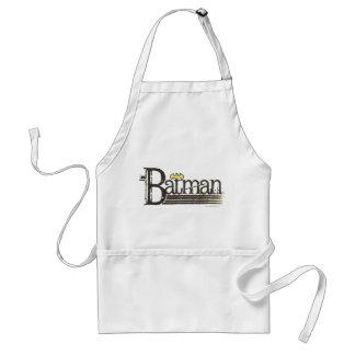 Buchstaben Batmans Showtime Schürze