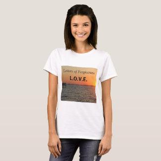 Buchstaben von Verzeihen-T - Shirtgröße Medium T-Shirt