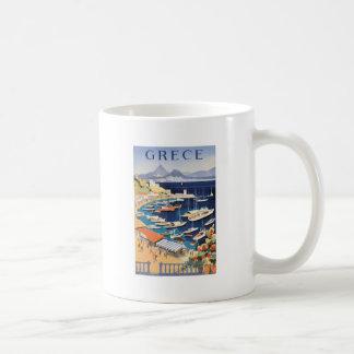 Bucht 1955 Griechenlands Athen des Castella Kaffeetasse
