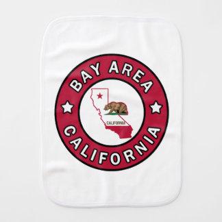 Bucht-Bereich Kalifornien Baby Spucktuch