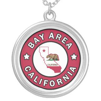 Bucht-Bereich Kalifornien Versilberte Kette