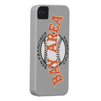 Bucht-Bereich SF graue iPhone 4/4S Case-Mate