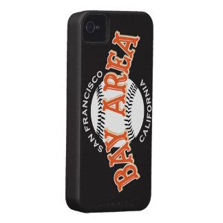 Bucht-Bereich SF schwarzes iPhone 4/4S iPhone 4 Case-Mate Hüllen