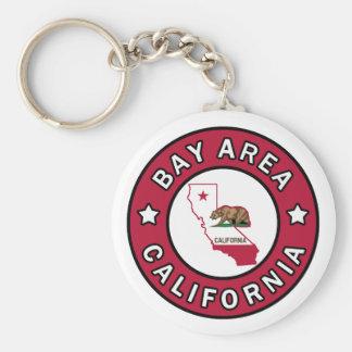 Bucht-Bereichs-Kalifornien keychain Schlüsselanhänger