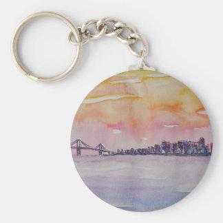 Bucht-Bereichs-Skyline San Francisco mit Schlüsselanhänger
