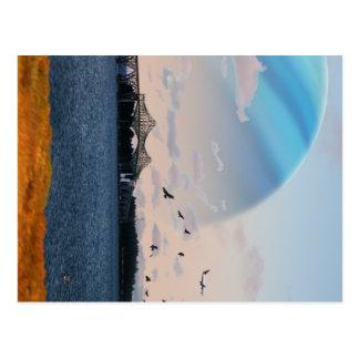Bucht-Brücke Postkarten