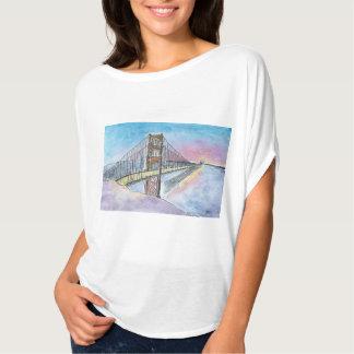 Bucht-Brücke T-Shirt