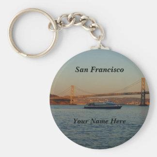 Bucht-Brücke u. Yerba Buena Insel #4-2 Keychain Schlüsselanhänger
