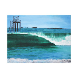 Bucht, die #3 malt leinwanddruck