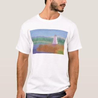 Bucht-Leuchtturm, T - Shirt/Shirt T-Shirt
