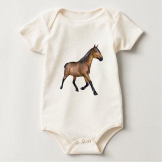 Bucht-Pferdebetrieb Baby Strampler