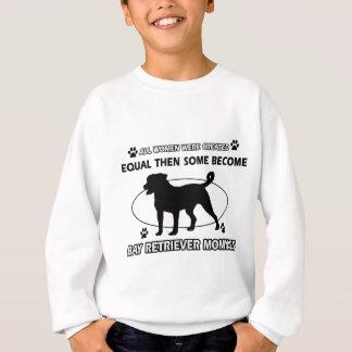 Bucht rettriever Hundezuchtentwürfe Sweatshirt