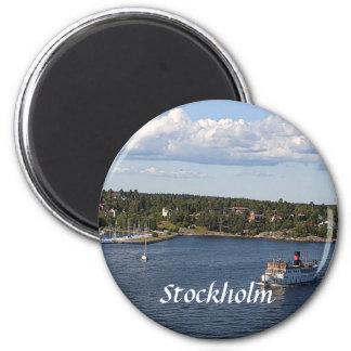 Bucht Stockholms Schweden Runder Magnet 5,7 Cm