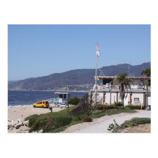 Bucht-Uhr Los Angeles Postkarte