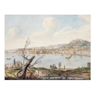 Bucht von Neapel vom Seeufer nahe dem Maddalena-Br Postkarte